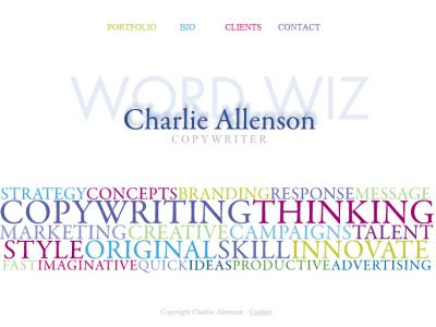 Charlie Allenson Website