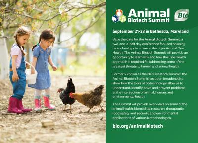 Animal Biotech Postcard